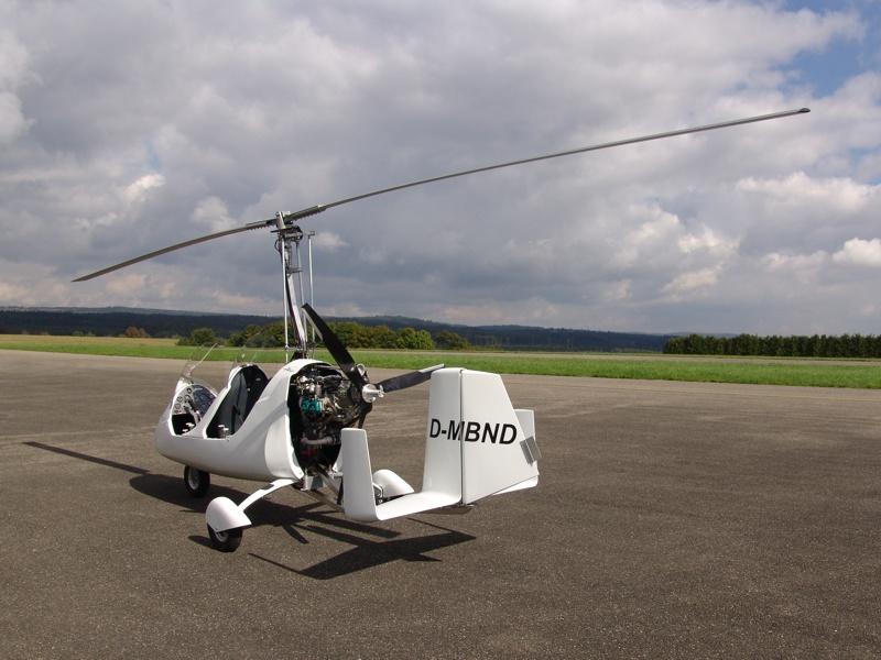 Gyrocopter MT0Sport