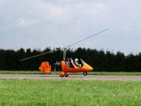 Gyrocopter beim Start