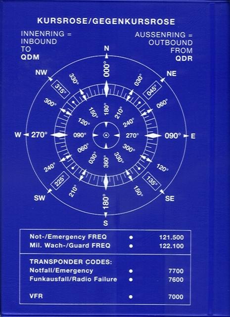 Flieger-Taschenkalender